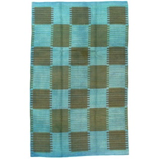 "Pasargad Ny Scandinavian Design Wool Rug - 5′9″ × 8′10"" For Sale"