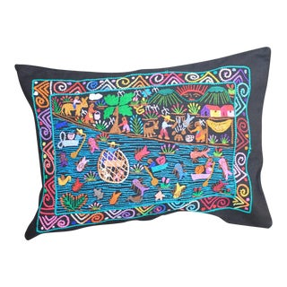 Tzin Tzun Tzan Pescadores Pillow Cover For Sale
