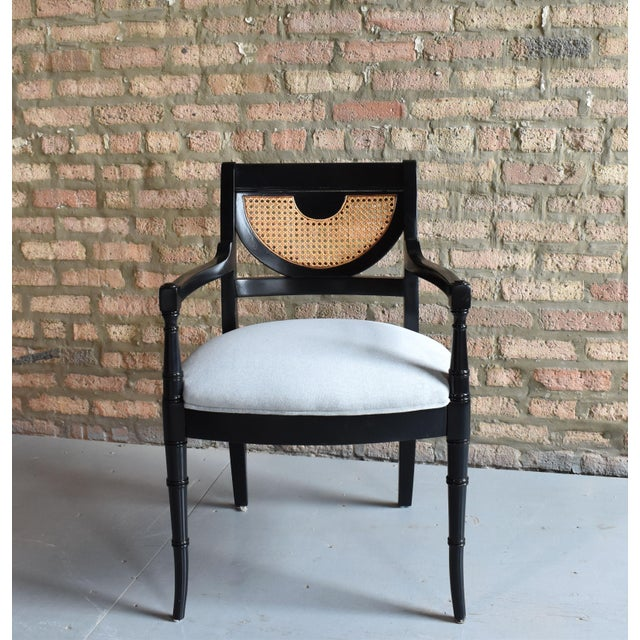 Regency Dining Chairs - Set of 4 - Image 4 of 8