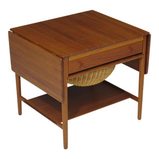 Hans Wegner Sewing Table For Sale