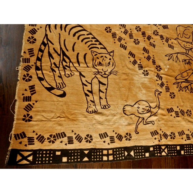 African Mud Cloth Wall Hanging or Throw - Image 6 of 6