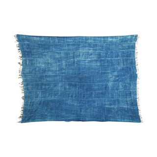 "Denim Batik Throw - 3'7"" X 4'9"""