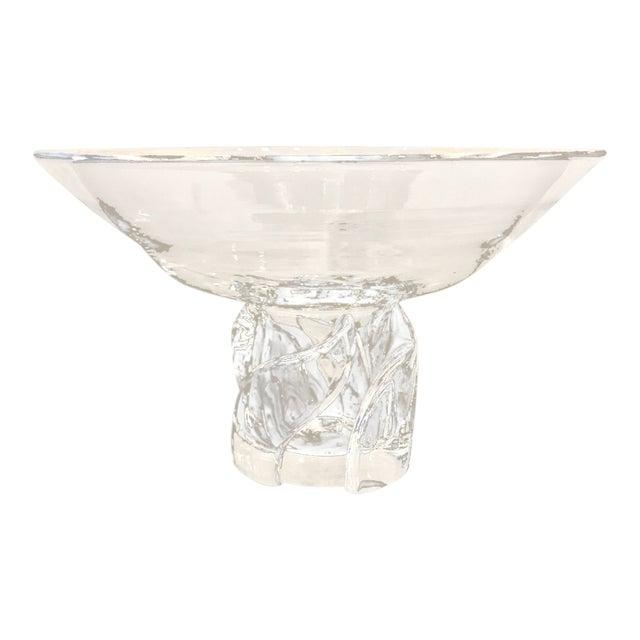 Steuben Pedestal Bowl, 20th Century For Sale