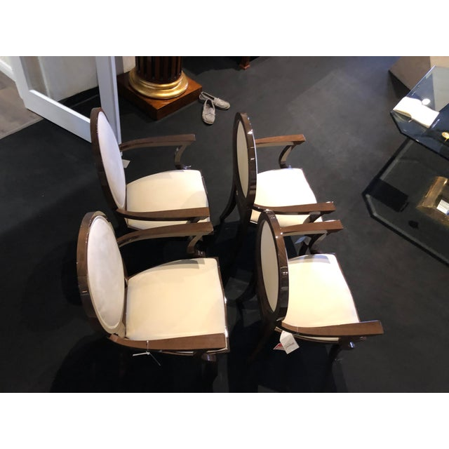 Modern Modern Ultra Suede Ello Italian Chairs - Set of 6 For Sale - Image 3 of 13