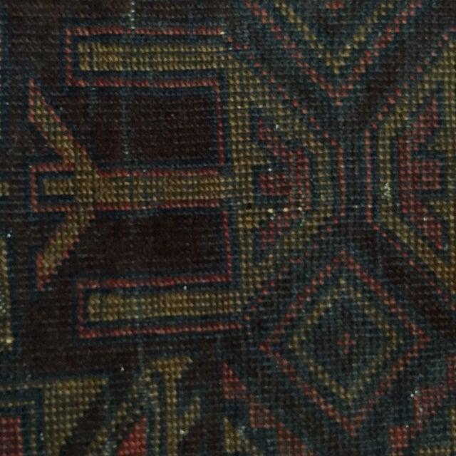 Balluchi Persian Rug - 2′7″ × 2′8″ - Image 6 of 7