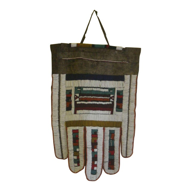 Antique African Wedding Apron From the Ndebele Tribe For Sale