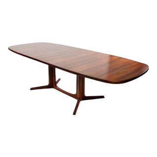 Niels Moller Rosewood Expandable Dining Table For Sale