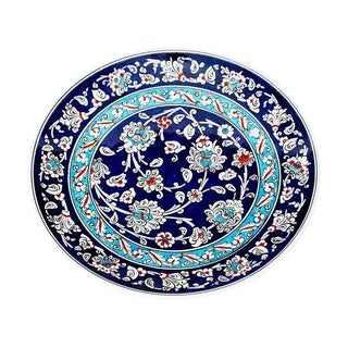 Turkish Iznik Pottery Plate