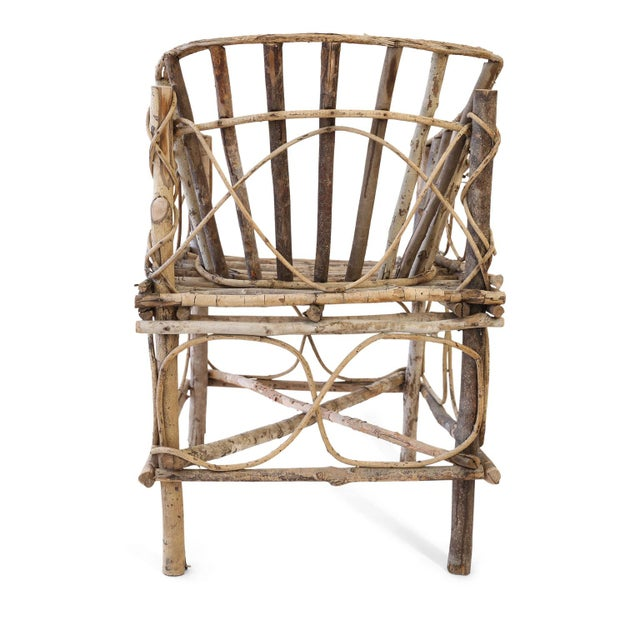 Antique French Twig Chair For Sale - Image 4 of 13