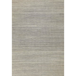 Sample - Schumacher X Celerie Kemble Haiku Sisal Wallpaper in Taupe For Sale