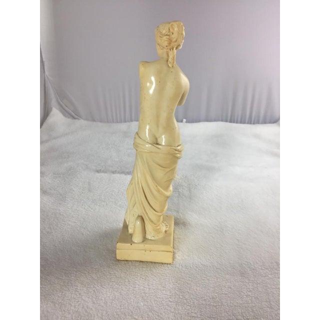 Mid 20th Century 1950's Venus De Milo Alabaster Goddess of Love, Signed For Sale - Image 5 of 7