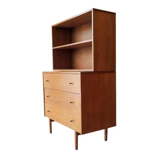 Mid-Century Modern Paul McCobb for Planner Group Display Bookcase With Drawers For Sale