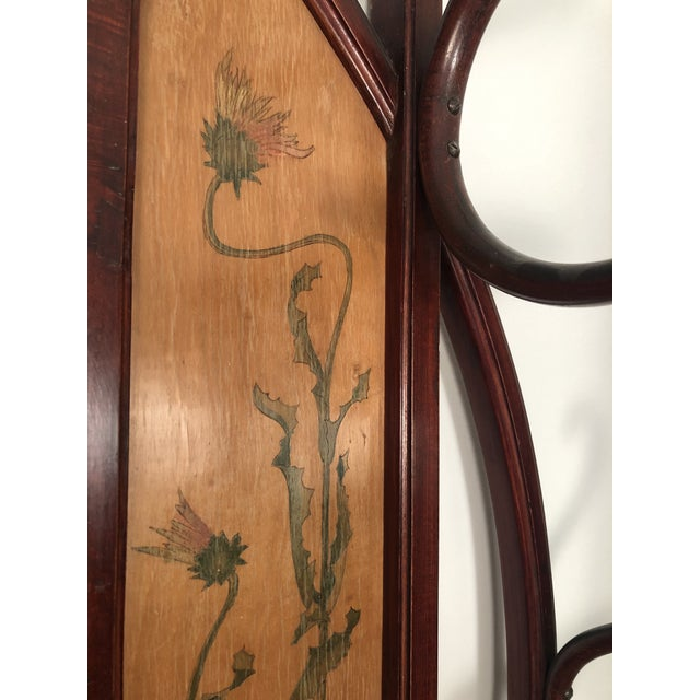 Bentwood Hall Tree With Hat and Coat Rack For Sale - Image 10 of 12