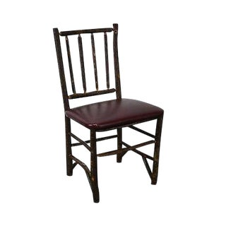 Old Hickory Signed 64d Tavern Side Chair (B) For Sale