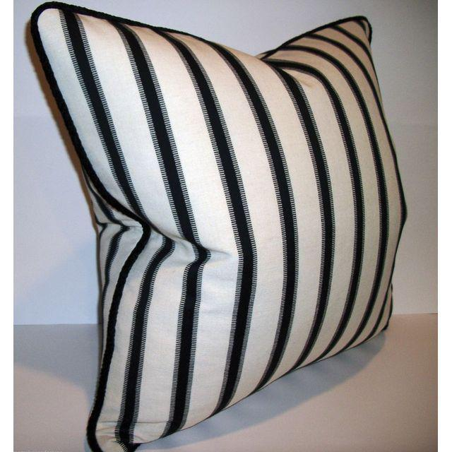 Hamptons Stripe Accent Pillows - A Pair - Image 3 of 4