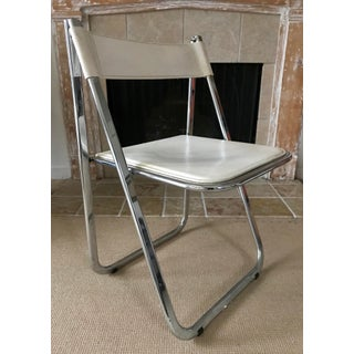 Vintage Italian Chrome Chair by Arrben Preview