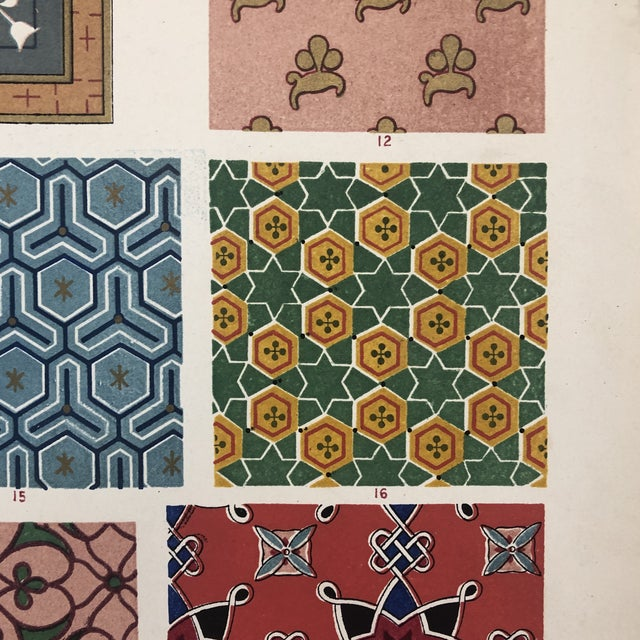 Late 19th Century Persian Print From Grammar of Ornament For Sale - Image 5 of 12