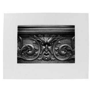 Photograph of an Architectural Detail For Sale