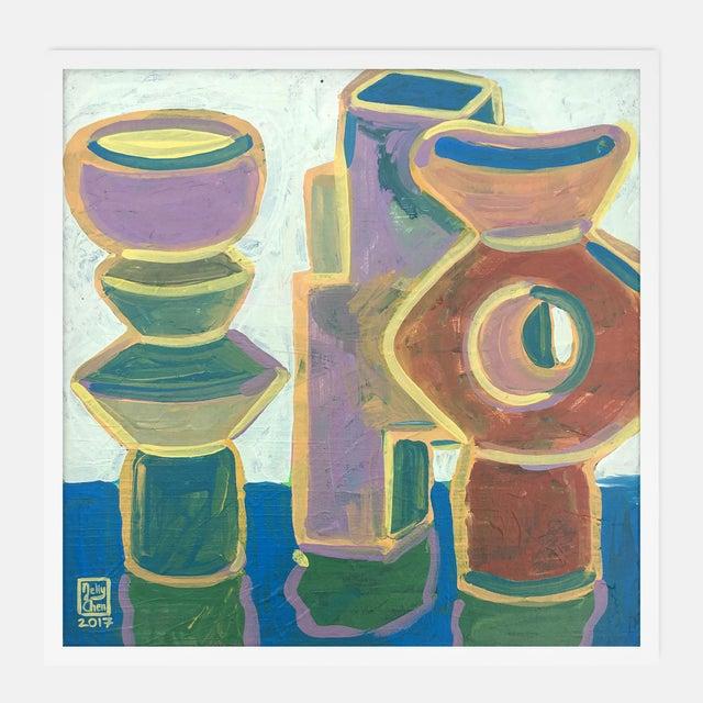 Blue Bridgehampton Gallery Wall, Set of 4 For Sale - Image 8 of 9