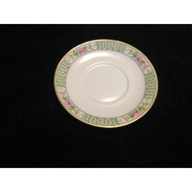 Vintage C. Ahrenfeldt Limoges France Depose Saucer - Image 2 of 6