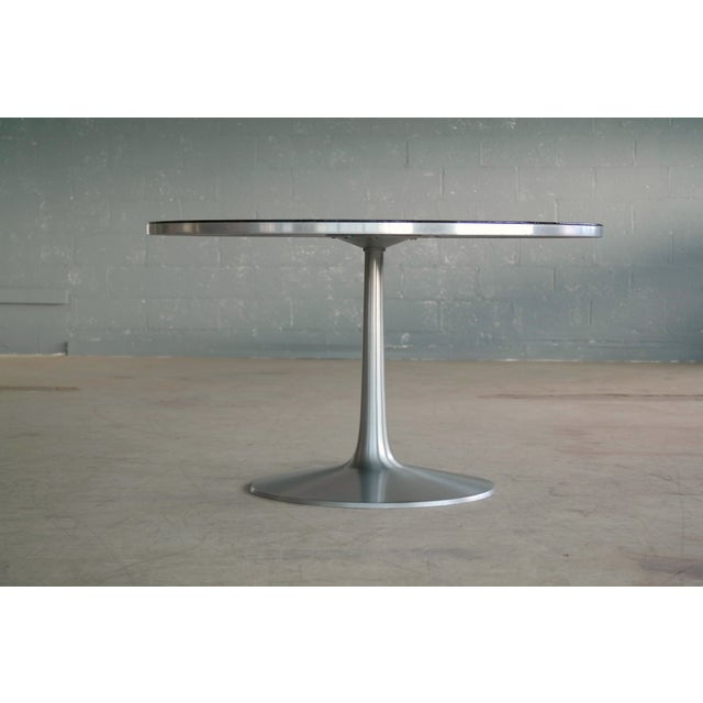 Poul Cadovius 1960's Dining Table in Aluminum Decorated by Susanne Fjeldsøe For Sale In New York - Image 6 of 8