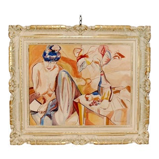 1955 Nude Painting by Sargent For Sale