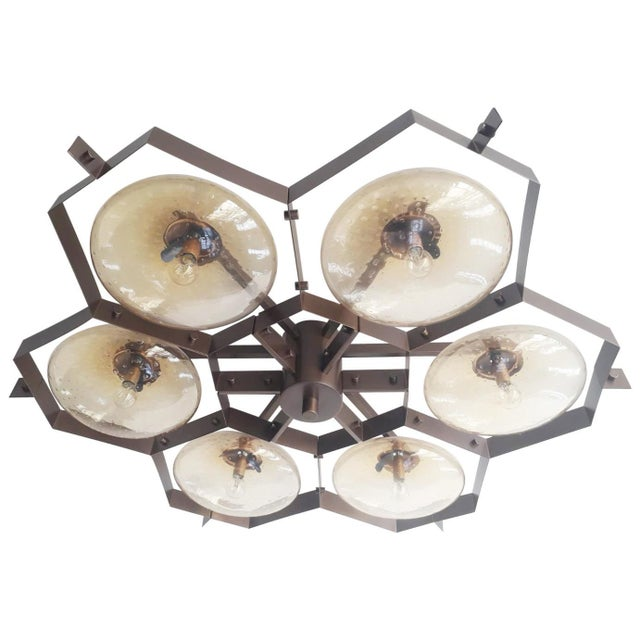 Beehive Flush Mount by Fabio Ltd For Sale - Image 10 of 10