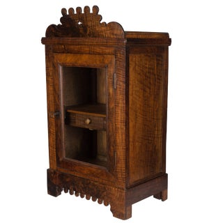 19th Century French Vitrine or Hanging Cabinet For Sale