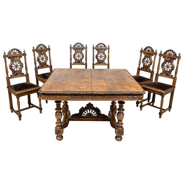 Brittany Table with Chairs, circa 1890 For Sale - Image 13 of 13