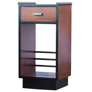 Machine Age Gilbert Rohde Style Nightstand For Sale