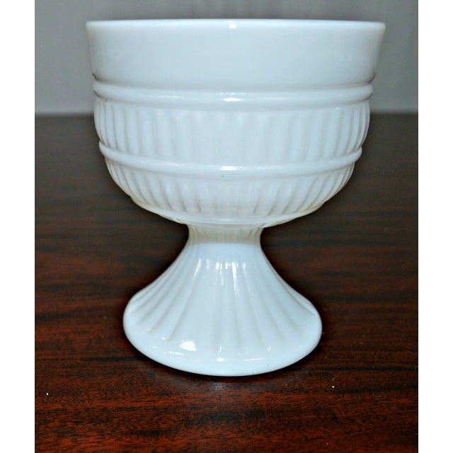 Milk Glass Compote Dish - Image 5 of 7