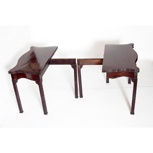Pair of 18th Century George III Mahogany Card Tables For Sale In Dallas - Image 6 of 13