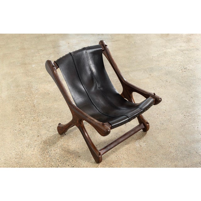 Mid-Century Modern Mid Century Mexican Modern Don Shoemaker Sling Chair For Sale - Image 3 of 10