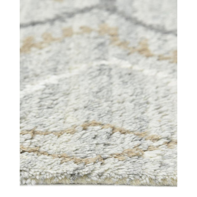 Clover Handmade Area Rug - 8 X 10 For Sale In New York - Image 6 of 9