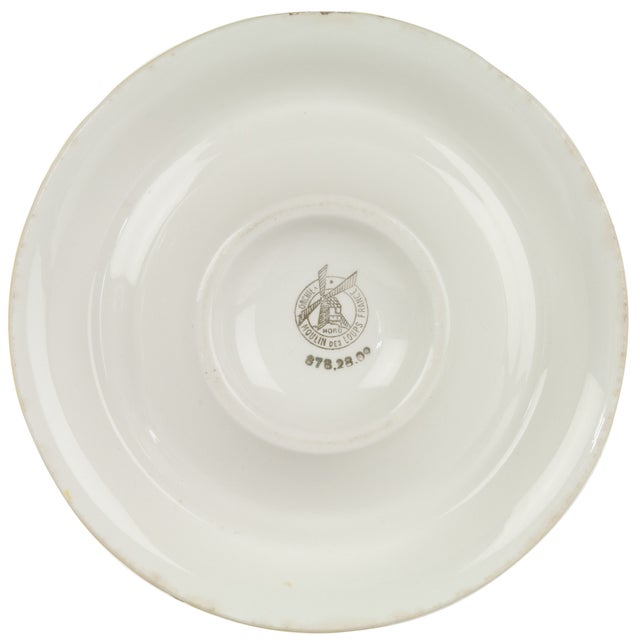 French Vintage French Porcelain Suze Ashtray For Sale - Image 3 of 3