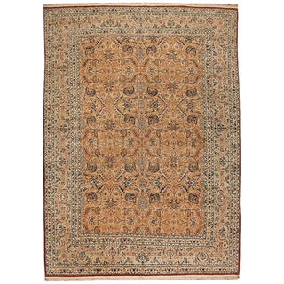 Fine Persian Nain Carpet For Sale
