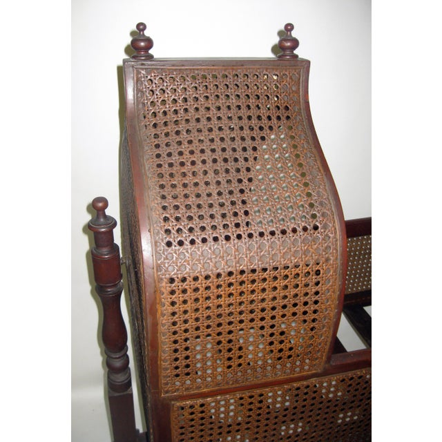 Gothic 19th Century Gothic Revival Walnut Swinging Cradle For Sale - Image 3 of 13