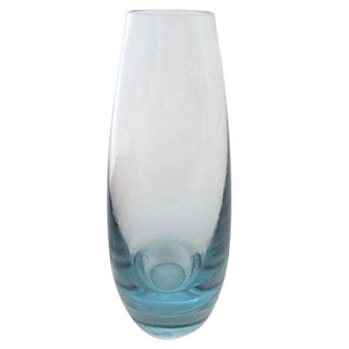 Mid-Century Holmegaard Scandinavian Glass Vase