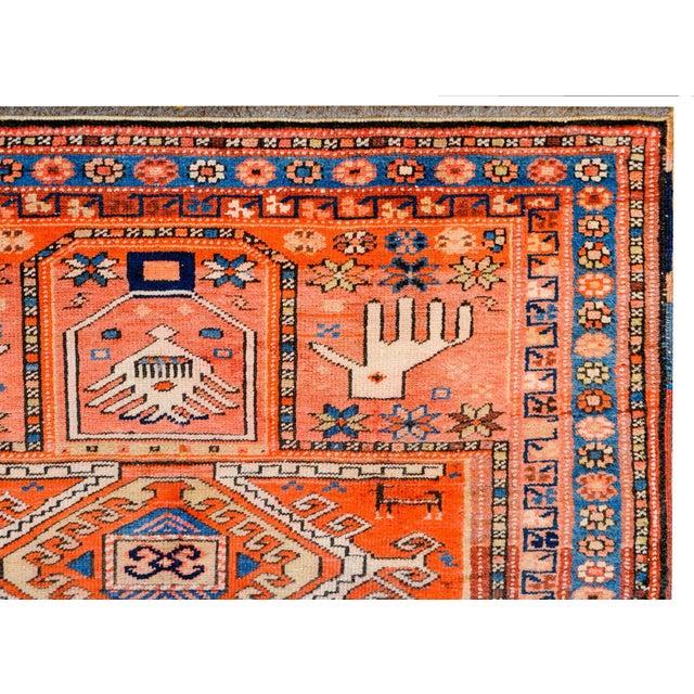 Textile Wonderful Early 20th Century Kazak Prayer Rug For Sale - Image 7 of 10