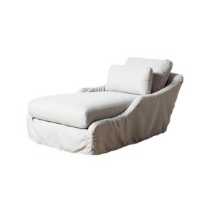 Modern Hailey Outdoor Chaise For Sale