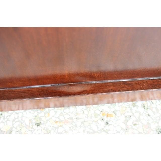 Vintage Mahogany Pedestal For Sale - Image 11 of 13