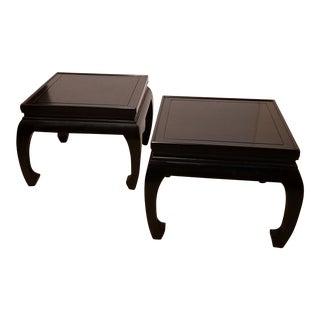 20th Century Asian John Stuart Low Tables - a Pair For Sale
