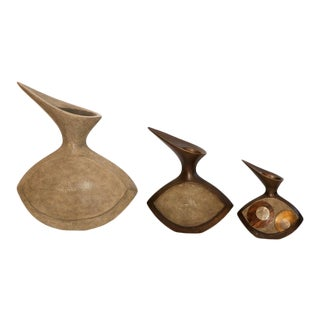 Vases by R & Y Augousti - Set of 3 For Sale