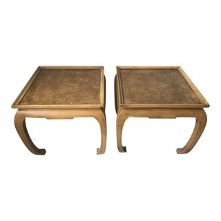 20th Century Ming Style Side Tables - a Pair For Sale