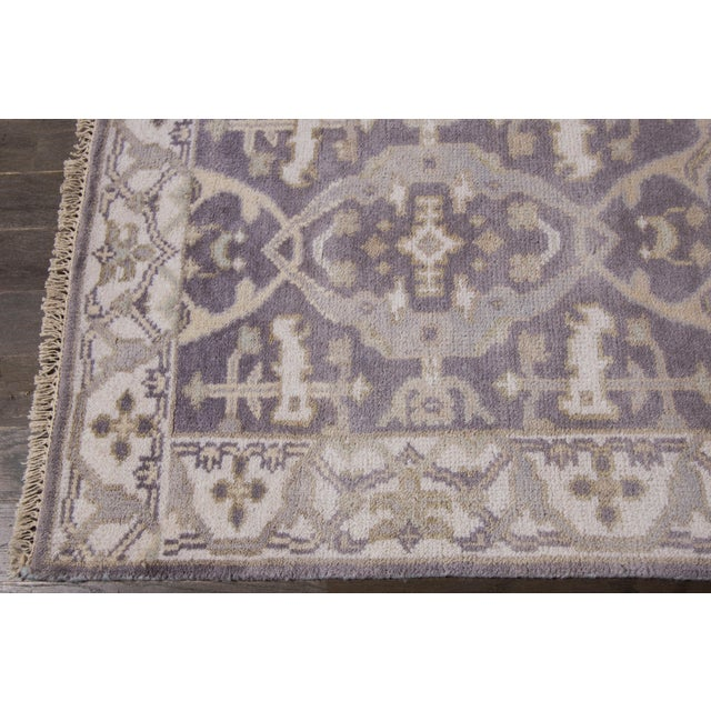 """Apadana - 21st Century Oushak Style Rug, 2'5"""" x 19'9"""" For Sale - Image 5 of 8"""
