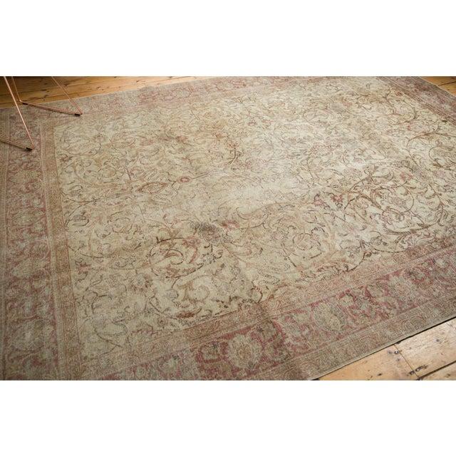"""Textile Vintage Distressed Sivas Carpet - 8' x 10'10"""" For Sale - Image 7 of 11"""