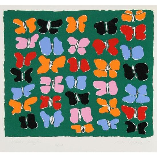 "1979 Nadine Prado ""Free Forms"" Print - Image 3 of 3"