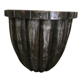 Distressed Iron Pot For Sale