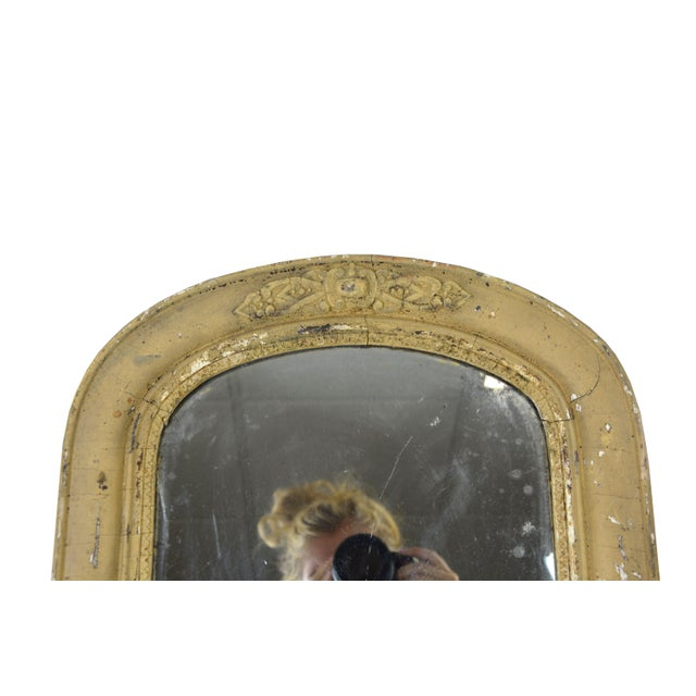 Antique Arched Accent Mirror - Image 3 of 4