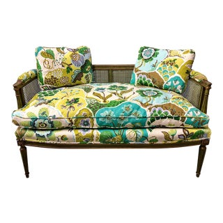 1960s Italian Gilded Settee - Pair Available